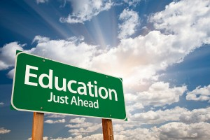 education_just_ahead