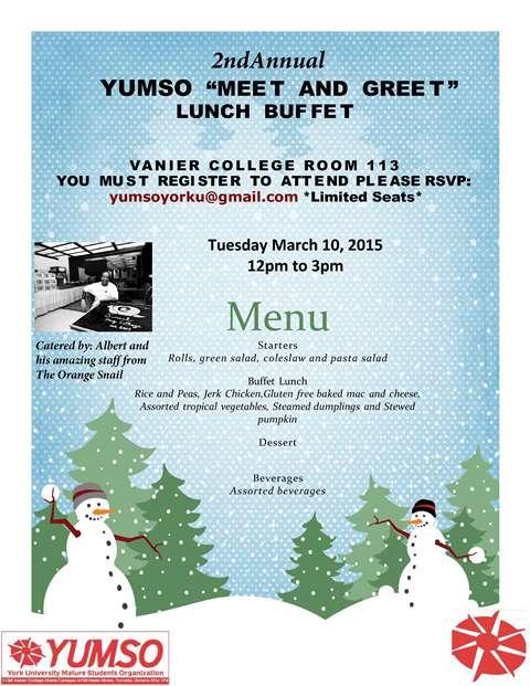 YUMSO Meet & Greet Lunch