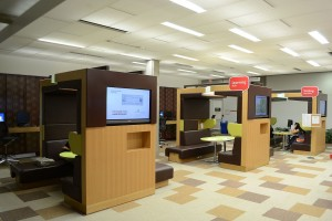 A photo of York University's Learning Commons